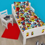Marvel Comics Justice 4 in 1 Junior Bedding Bundle (Duvet, Pillow,
