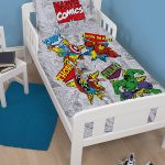 Marvel Comics Retro 4 in 1 Junior Bedding Bundle (Duvet, Pillow,