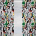 Marvel Comics Retro Curtains