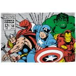 Marvel Comics Retro Fleece Blanket