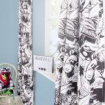 Marvel Comics Crop Curtains