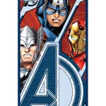 Marvel Avengers Trio Towel