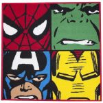 Marvel Comics Defenders Rug