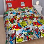 Marvel Comics Justice Double Duvet Cover and Pillowcase Set