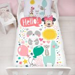 Minnie Mouse Friends 4 in 1 Junior Bedding Bundle Set (Duvet, Pillow