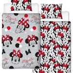 Minnie Mouse Cute Single Duvet Cover Set – Rotary Design
