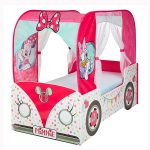 Minnie Mouse Campervan Toddler Bed with Foam Mattress