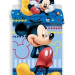 Mickey Mouse Hello Single Duvet Cover and Pillowcase Set