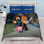 Minecraft Duvet Cover and Pillowcase Set – Double
