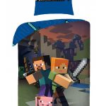 Minecraft Single Cotton Duvet Cover Set – European Size