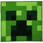 Minecraft Creeper Square Rug