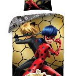 Miraculous Golden Single Duvet Cover and Pillowcase Set