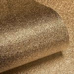 Textured Sparkle Glitter Effect Wallpaper Gold Muriva 701354