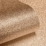 Textured Sparkle Glitter Effect Wallpaper Copper Muriva 701374