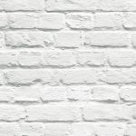 Painted White Brick Wallpaper Muriva 102539