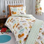 My Safari Animals 4 in 1 Junior Bedding Bundle (Duvet, Pillow and