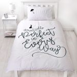 Mary Poppins Perfect Single Duvet Cover and Pillowcase Set