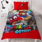 Nintendo Super Mario Cappy Single Duvet Cover Set