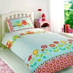 Owls Single Duvet Cover and Pillowcase Set