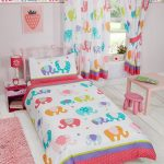 Patchwork Elephant Single Duvet Cover and Pillowcase Set