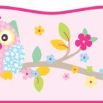Patchwork Owl Wallpaper Self Adhesive Border 5m – Exclusive Design