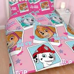 Paw Patrol Stars Double Duvet Cover and Pillowcase Set
