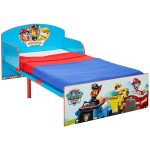 Paw Patrol Toddler Bed with Deluxe Foam Mattress