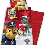 Paw Patrol No Pup Too Small Single Cotton Duvet Cover Set