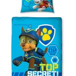 Paw Patrol Spy 4 in 1 Junior Bedding Bundle Set (Duvet, Pillow and
