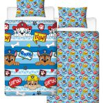 Paw Patrol Peek Single Duvet Cover Set – Rotary Design
