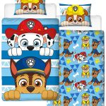 Paw Patrol Peek Single Duvet Cover Set