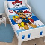 Paw Patrol Peek 4 in 1 Junior Bedding Bundle Set (Duvet, Pillow and