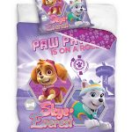 Paw Patrol Lilac Single Duvet Cover and Pillowcase Set