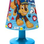 Paw Patrol Ruff Battery Bedside Lamp