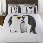 Penguin Family Double Duvet Cover and Pillowcase Set