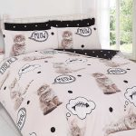 Kittens King Size Duvet Cover and Pillowcase Set