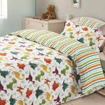 Dinosaur Double Duvet Cover and Pillowcase Set