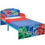 PJ Masks Toddler Bed with Deluxe Foam Mattress