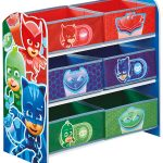 PJ Masks 6 Bin Storage Unit