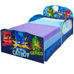 PJ Masks Toddler Bed with Storage plus Fully Sprung Mattress