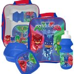 PJ Masks 3 Piece Lunch Bag Set