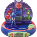 PJ Masks Radio Alarm Clock Projector