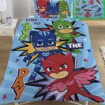 PJ Masks Save The Day Single Duvet Cover Set