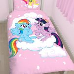 My Little Pony Equestria Single Duvet Cover and Pillowcase Set – Panel
