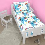 My Little Pony Dash 4 in 1 Junior Bedding Bundle Set (Duvet, Pillow,