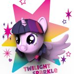 My Little Pony 3D LED Wall Light – Twilight Sparkle