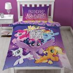 My Little Pony Movie Single Duvet Cover and Pillowcase Set