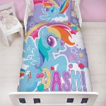 My Little Pony Crush 4 in 1 Junior Bedding Bundle Set (Duvet, Pillow