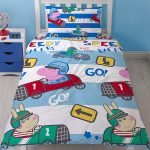 Peppa Pig George Speed Single Duvet Cover and Pillowcase Set