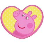 Peppa Pig Shaped Floor Rug